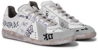 Maison Margiela Exclusive to Mytheresa a Vintage Graffiti sneakers