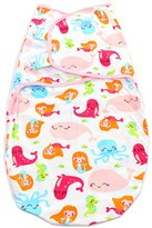 Merssavo Newborn Infant Adjustable Baby Wrap Swaddle Blanket , Mermaid