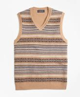 Brooks Brothers Lambswool Fair Isle Vest