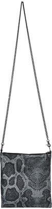 Whiting & Davis Python Convertible Crossbody Bag