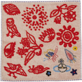 Vivienne Westwood Magic Forest Ivory Handkerchief One Size