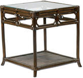 "Selamat Eloise 20"" Rattan Side Table - Clove"