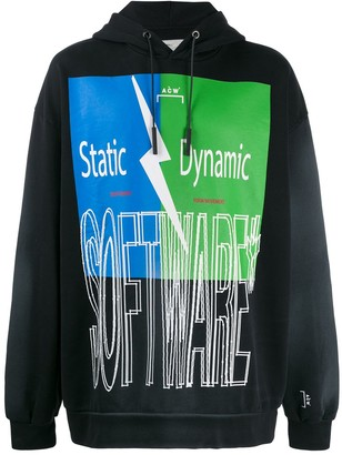 A-Cold-Wall* Statement Print Hoodie