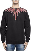 Marcelo Burlon County of Milan Black Cotton Sweater
