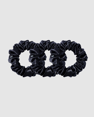 Slip Women's Black Hair Tools - Large Scrunchies - Size One Size at The Iconic