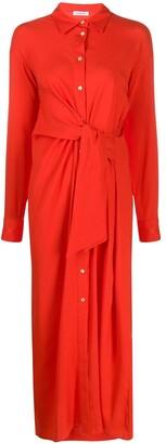 P.A.R.O.S.H. Tie-Waist Shirt Dress