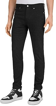 The Kooples Slim-Fit Black Jeans