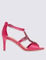 M&S Collection Stiletto T-Bar Sandals