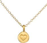 Satya Gold Heart Charm Necklace