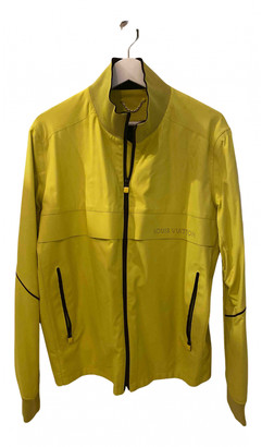 Louis Vuitton Yellow Synthetic Jackets