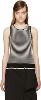 3.1 Phillip Lim Black & White Knit Top