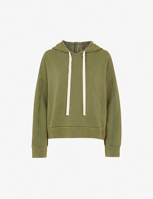 Whistles Ultimate cotton-jersey hoody