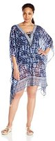 Bleu Rod Beattie Bleu | Rod Beattie Women's Plus Size I've Got You Babe Caftan