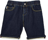 Paul Smith French-Terry-Backed Denim Shorts