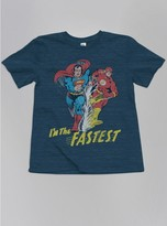 Junk Food Clothing Kids Boys Superman And Flash Tee