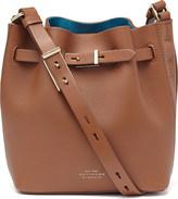 Smythson Albemarle small leather bucket bag