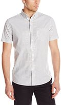 Lee Men's Chambray Print Shirt (Regular and Big and Tall Sizes)