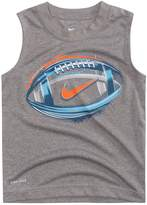 Nike Boys 4-7 Football Graphic Muscle Tee