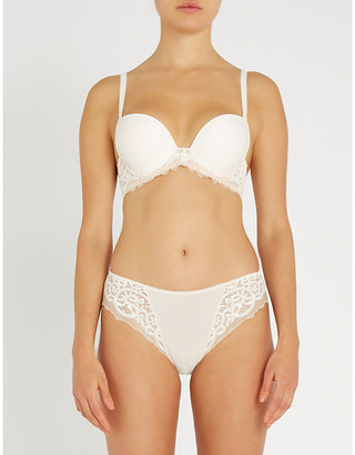 Wacoal Lace Essentiel lace and jersey bra