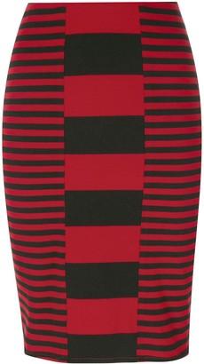 Jean Paul Gaultier Pre Owned Striped Short Skirt