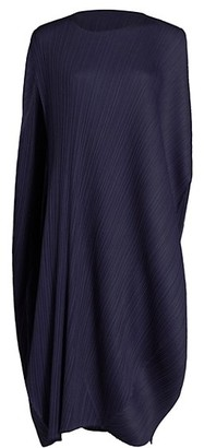 Pleats Please Issey Miyake Shiny Round Midi Dress