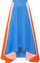 Peter Pilotto Asymmetric Cotton-poplin Skirt - UK14