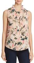 Kate Spade Sleeveless Botanical-Print Top