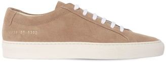 Common Projects 20mm Achilles Low Suede Sneakers