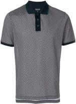 Giorgio Armani patterned polo shirt