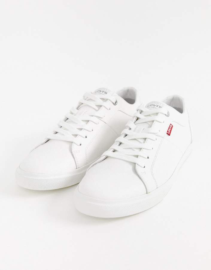 Levi's woods trainers brilliant white