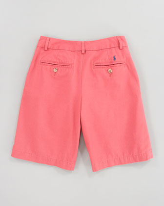 Ralph Lauren Red Brick Preppy Shorts, Sizes 8-10