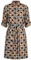 Burberry Polka Dot Shirt Dress