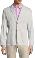 Toscano Cotton Stretch Notch Lapel Sportcoat