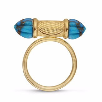 Lmj Twisted Rays Ring