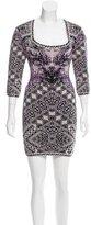 Herve Leger Melissa Jacquard Dress w/ Tags