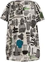 Junya Watanabe Puutarhurin parhaat-print cotton dress