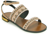 Lola Cruz 303Z04BK - Beaded Sandal