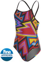 Arena Girls' Tulum Light Drop Back One Piece Swimsuit 8155387