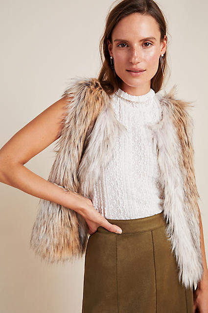 BB Dakota Josie Faux Fur Vest
