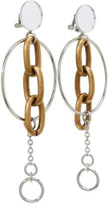 Miu Miu Round chain earrings