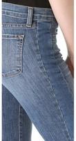 J Brand Chrissy Patchwork Flare Jeans