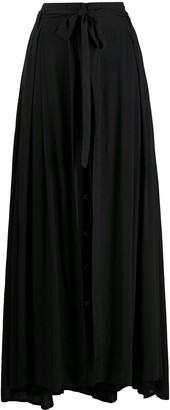 Ann Demeulemeester Belted Long Skirt