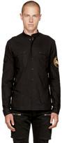 Balmain Black Saharienne Shirt