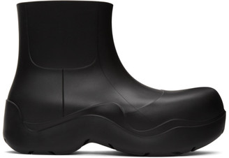 Bottega Veneta Black Matte The Puddle Boots