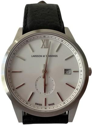 Larsson & Jennings Black Steel Watches