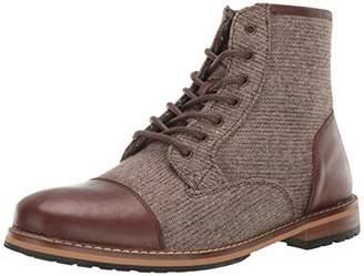 Crevo Men's Demarcon-Leather & Wool Fashion Boot