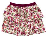 Crazy 8 Floral Ruffle Skirt