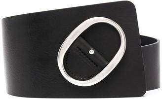 IRO Buckle-Fastening Leather Belt