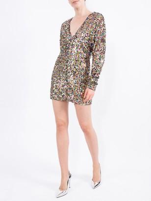 ATTICO Dolman Sleeved Minidress