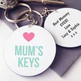 Hurley Sarah Personalised Mums Keys Keyring